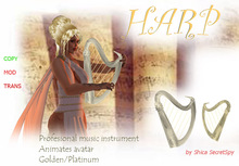 animated harp (female)