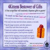 4Kittens Bestower of Gifts