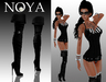 **NOYA** [PROMO] Virtuose Black Outfit with Boots and Belt