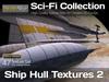 Studio Skye Sci-Fi Textures - 47 Ship Hull Textures Pack 2 - White Hull