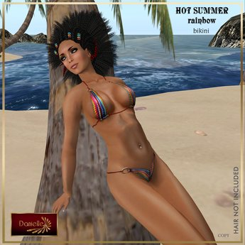DANIELLE Hot Summer Rainbow Appliers And Classic
