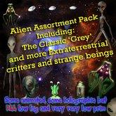 Alien Assortment Pack, Sci-Fi,Planets,Sci-fi, Cosmic