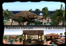 *PROMO* Tiki Island *Bamboo Dream* Furnished House/ Skybox