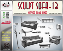 Sculpt sofa 13(box) by **aVISTYLe** (Low Price Line) - for FULL PERM !!