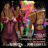 >>ROOTS<<00D10015  (Casual Sexy Mini Dress)