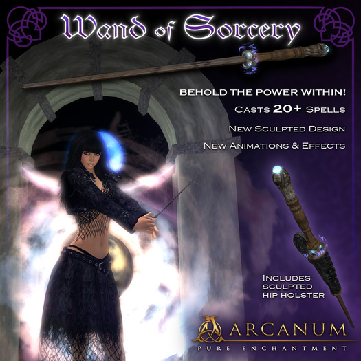 [FREE!] Sorcerer's Wand - Spellcasting System
