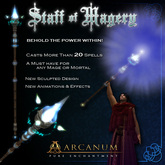 Staff of Magery - Spellcasting System