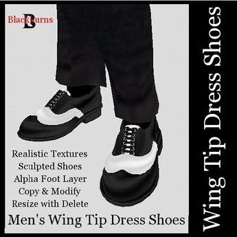 Men's Dress Shoes Wing Tips
