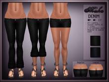 *MUKA* Denim Pack (black & blue)