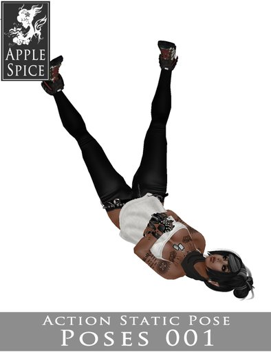 Apple Spice - Action Pose 001
