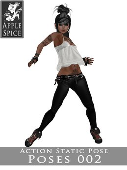 Apple Spice - Action Pose 002