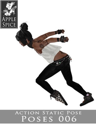 Apple Spice - Action Pose 006