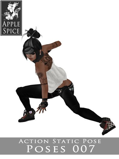 Apple Spice - Action Pose 007