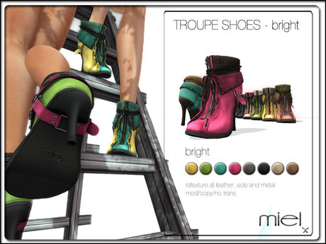 MIEL TROUPE SHOES - bright
