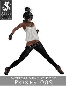 Apple Spice - Action Pose 009