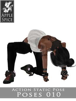 Apple Spice - Action Pose 010