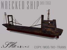 :SHe Wrecked Cargo Ship SHS002