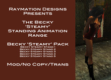 Becky Steamy Stand Pack - No Copy