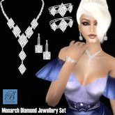 Alyssa Bijoux  - Monarch Diamond Jewelry Set