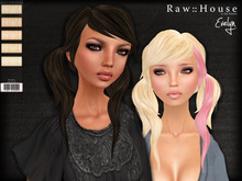 RAW HOUSE :: Evelyn Hair [Light Blondes] w/ texture change highlights
