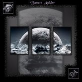 NuTec: Moon In The Clouds Wall Art