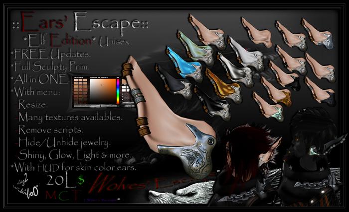 ::Ears Escape:: Elf Edition - Unisex v1.0