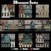 Medieval Town Facade - Privacy Screen