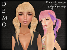RAW HOUSE :: Evelyn Razorbangs hair DEMO