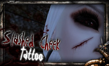 REPULSE - Slashed Cheek Face Tattoo