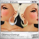 [ glow ] studio - Glamour Earrings (gold end silver)