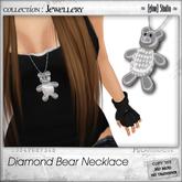 [ glow ] studio - Diamond Bear Necklace