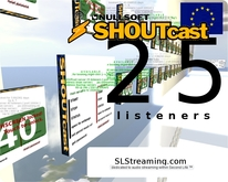 SHOUTcast server 25 listeners ONE MONTH 30 days
