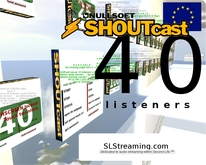 SHOUTcast server 40 listeners ONE MONTH 30 days