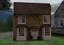 3 prim house or storage shed