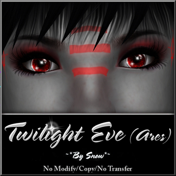 ~*By Snow*~ Twilight Eve Eyes (Ares)