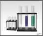 Laboratory Test tubes in racks - Lab tubes  FULL PERM