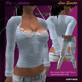 *NB* Ina Fashion - Lace Sweater Blue (BOXED)