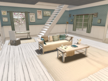 Second Life Marketplace Swallows Nest New England Beach House Boxed