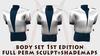 Body Set 1st edition FULL PERM SCULPT+SHADEMAPS suit jacket vest