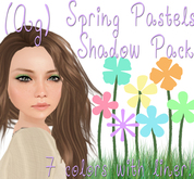 (Ag) Spring Pastels Shadow Pack