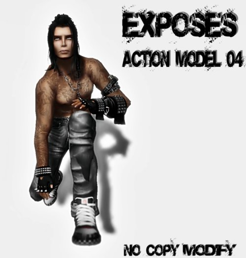 EXPOSES - ACTION MODEL 04 - NO COPY