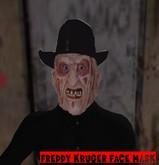 Freddy Kruger face mask