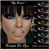 ~*By Snow*~ Twilight Eve Eyes (Fat Pack)