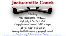 ** SALE ONLY 1 L ** Jacksonville Couch  * Any Color Scripted *