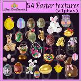 54 easter textures/alpha textures easter textures