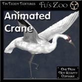 *TT* 1 Prim Animated Whooping Crane