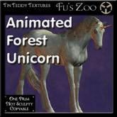 *TT* 1 Prim Animated Forest Unicorn