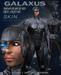 ND/MD GALAXUS MASKED BLACK - Cyborg Skin