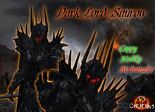 TSC-Dark Lord Sauron Armor Outfit wery low ARC Design for roleplay tagMedieval