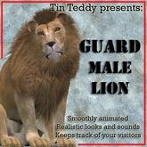 *TT* Animated Guard Male Lion - V4